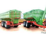 Автобункер-автотранспортер зерна- Завантажувач сівалок борт - фото 1