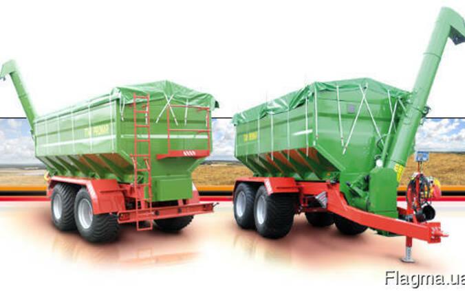 Автобункер-автотранспортер зерна- Завантажувач сівалок борт
