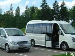 Автобус Алчевск - Луганск - Елец - Калуга и обратно.