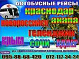 Автобус Алчевск - Сочи - Адлер - фото 2