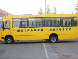 Автобус школьный Ataman D093S201 с полным приводом 4х4