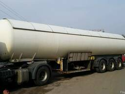 Автоцистерна-полуприцеп для транспортировки пропан-бутана