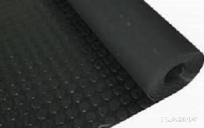 Автодорожка резиновая монетка, размер 1500x 7400 мм