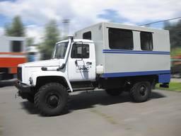 Автофургон ФПВ-34406 (вахтовка) на базе шасси ГАЗ-33081