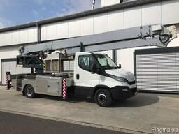 Автокран з платформою AMAK 60 - KLAAS на шасі Iveco Daily