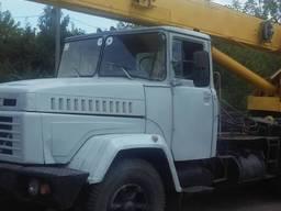 Автокран г/п 20 тн Броварчанец Краз к/ремонт 2019г. в.