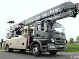 Автокран з платформою K 900 RSX - KLAAS на шасі Mercedes