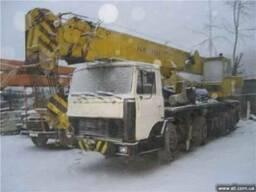 Автокран КШТ 50,на базе СуперМАЗа 6923 (8х4), 1996г.в., стре