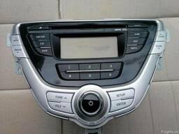 Автомагнитола 96170-3X600BLH на Hyundai Elantra 11- (Хюндай