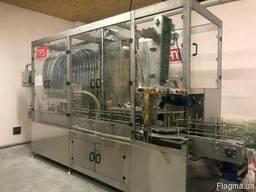 Автомат для розлива масла в ПЭТ-тару