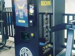 Автомат протеїнових коктейлів shaker - антикризова пропозиція для фітнес клубів заміни бар