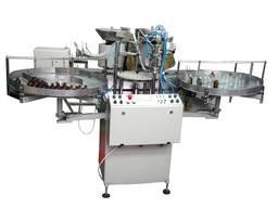 Автомат разлива и укупорки жидких препаратов во флаконы