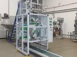 Автомат для упаковки стирального порошка