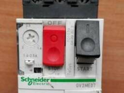 Автомат защиты двигателя 3ф 1,6 - 2,5; 2,5-4 А Schneider
