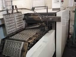 Автоматическая линия для производства орешков.