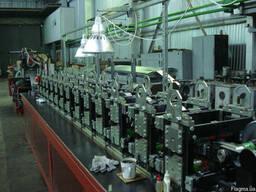 Автоматическая линия прокатки металлического профиля