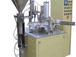 Автоматическая установка для фасовки в полимерную тару