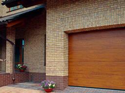 Автоматические гаражные ворота Алютех