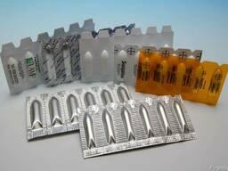 Автоматические линии производства и упаковки суппозиториев