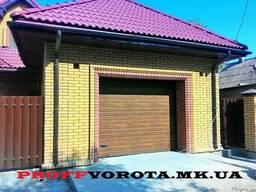 Автоматические секционные гаражные ворота Doorhan RSD01