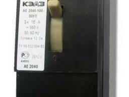 Автоматические выключатели А 3792, А 3794, А3796.