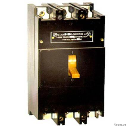 Автоматические выключатели АЕ2066 100А-160А недорого