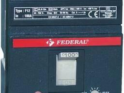 Автоматические выключатели Federal F12 с регулировкой