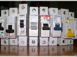 Автоматические выключатели, контакторы, реле напряжения