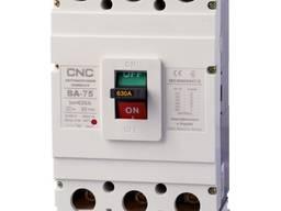Автоматические выключатели ВА-75, 400А-630А CNC Electric