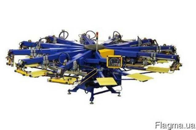 Автоматический трафаретный печатный станок карус