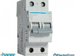 Автоматический выключатель 2p 6kA C-50A 2M Hager (Хагер)