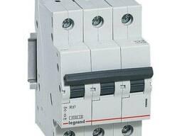 Автоматический выключатель 3-п Legrand 4. 5kA RX3 C 63A. ..