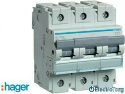Автоматический выключатель 3p 10kA C-80A 4.5M Hager (Хагер)