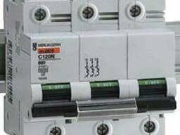 Автоматический выключатель C120N 3P 125A C 18369 Schneider