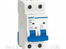 Автоматический выключатель, электрический автомат NB1-63 2P С20 6kA, 179660