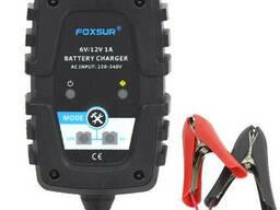Автоматическое ЗУ для аккумулятора 6V/12V (MF, WET, AGM, GEL), Foxsur FBC061201, Ток. ..