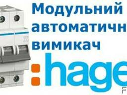 Автоматичний вимикач Hager 3P 6kA B-6A 3M (MB306A)