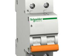 Автоматичний вимикач Schneider ВА63 1П+Н 63A С 11219