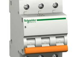 Автоматичний вимикач Schneider ВА63 3П 63A С 11229
