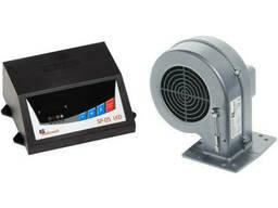 Автоматика для твердотопливных котлов KG Elektronik SP-05+вентилятор DP-02 (комплект)