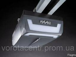 Автоматика FAAC D700 для секционных ворот площадью до 10 кв.