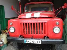 Автомобиль цистерна пожарная ГАЗ 53