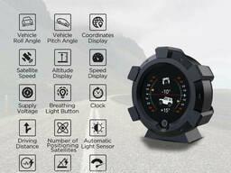Автомобильный Инклинометр Autool X95 цифровой, GPS
