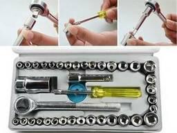Автомобильный набор инструментов на 40 предметов