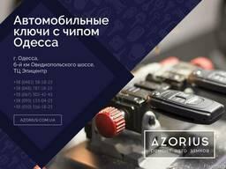 Автомобильные ключи с чипом Одесса