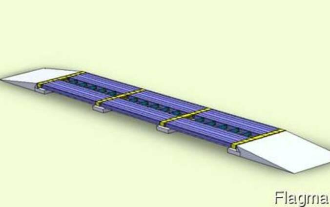 Автомобильные весы 100тн платформа 24 метра