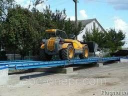 Автомобильные весы 14 метров 60 тонн