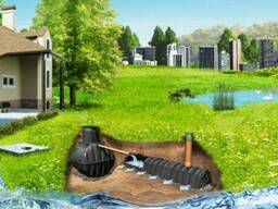 Автономная Канализация Септик/Яма Цена/Купить Сливная