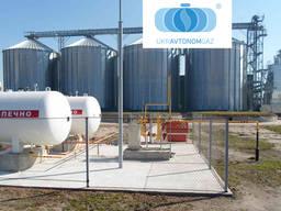 Автономное газоснабжение пропаном, строительство,