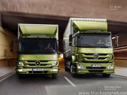 Автоперевозки от 1 до 20 тонн Украина, СНГ, Европа